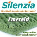 Silenzia Emerald Sponge Rubber underlay