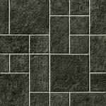 Multi Tile Silver Grey Cushionaire Vinyl