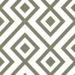 Kaleidoscope Grey & White Cushionaire Designer Vinyl