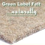 Green Label Felt carpet underlay