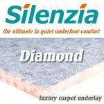 Silenzia Diamond 10mm Luxury Underlay