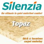 Silenzia Topaz 12mm carpet underlay
