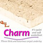 CosyLuxe Charm 11mm carpet underlay