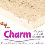 CosyLuxe Charm 11mm carpet underlay