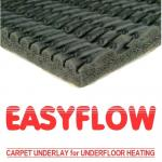 Easyflow King Sponge Rubber carpet underlay