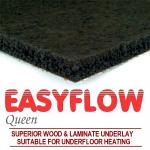 Easyflow Queen Laminate & Wood Rubber underlay