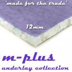 m-plus 12mm Carpet Underlay