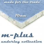 m-plus 10mm Carpet Underlay