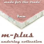 m-plus 9mm Carpet Underlay