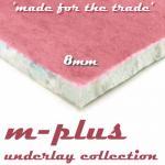m-plus 8mm Carpet Underlay