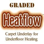 GRADED Heatflow Duralay Rubber underlay
