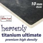 Heavenly Titanium Ultimate 10mm Carpet Underlay