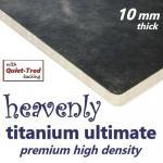 Heavenly Titanium Ultimate 10mm Carpet Underlay