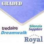 GRADED Tredaire Dreamwalk Royal etc 11mm carpet underlay
