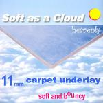 11mm Soft as a Cloud carpet underlay