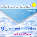 9mm Soft as a Cloud carpet underlay