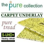 Pure Tread 9mm Ultra High Density Plus carpet underlay