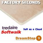 Tredaire Softwalk Dreamstep etc FACTORY SECONDS 9mm carpet underlay
