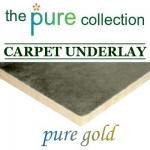 Pure Gold Ultra High Density 11mm carpet underlay