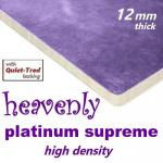 Heavenly Platinum Supreme High Density 12mm underlay
