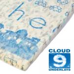 Blue Heaven 11mm carpet underlay