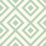 Kaleidoscope Jade Cushionaire Designer Vinyl