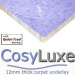 CosyLuxe 12mm carpet underlay