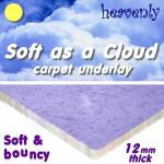 12mm Soft as a Cloud carpet underlay