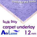 AirLuxe 12mm Carpet Underlay Multi-Buy