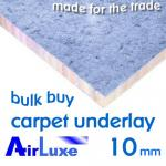 AirLuxe 10mm Carpet Underlay Multi-Buy