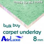 AirLuxe 8mm Carpet Underlay Multi-Buy