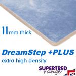 DreamStep Plus 11mm Extra High Density Carpet Underlay