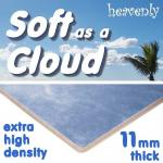 Soft as a Cloud 11mm Extra High Density Carpet Underlay