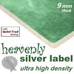 Heavenly Silver Ultra High Density 9mm carpet underlay