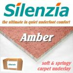 Silenzia Amber 8mm carpet underlay