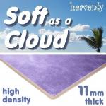 Soft as a Cloud 11mm High Density Carpet Underlay