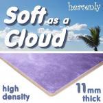 Soft as a Cloud 11mm High Density Carpet Underlay