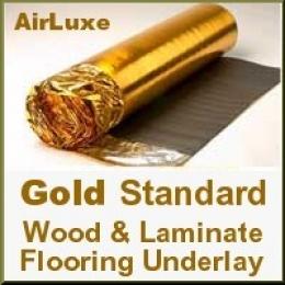 Gold Standard Laminate & Wood underlay
