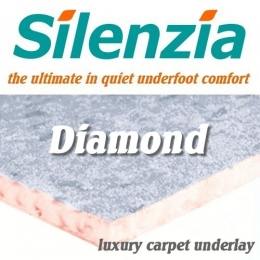 Silenzia Diamond 10mm Luxury Underlay