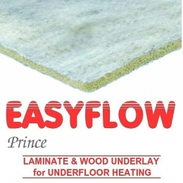 Easyflow Prince Laminate & Wood Rubber underlay