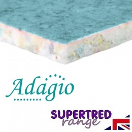Adagio 10mm SuperTred Carpet Underlay