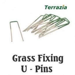 Fixing U-Pins for Artificial Grass