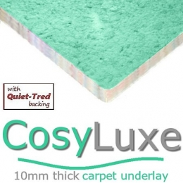 CosyLuxe 10mm carpet underlay
